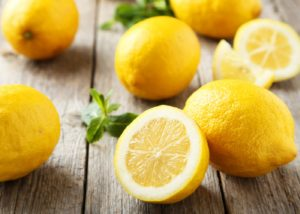 For Getting rid of Pimples use Lemon