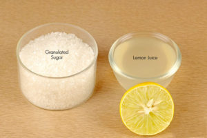 Lemon Juice And Sugar Remedy to get beautiful hands