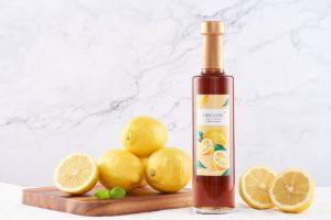 Lemon Slide And Vinegar
