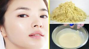Skin Whitening Remedy With BESAN