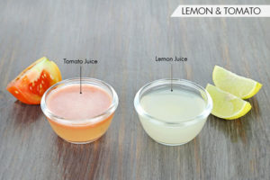 use Tomato Juice And Lemon Juice to get beautiful hands