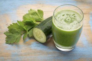 Use Cucumber Juice to make beautiful Neck
