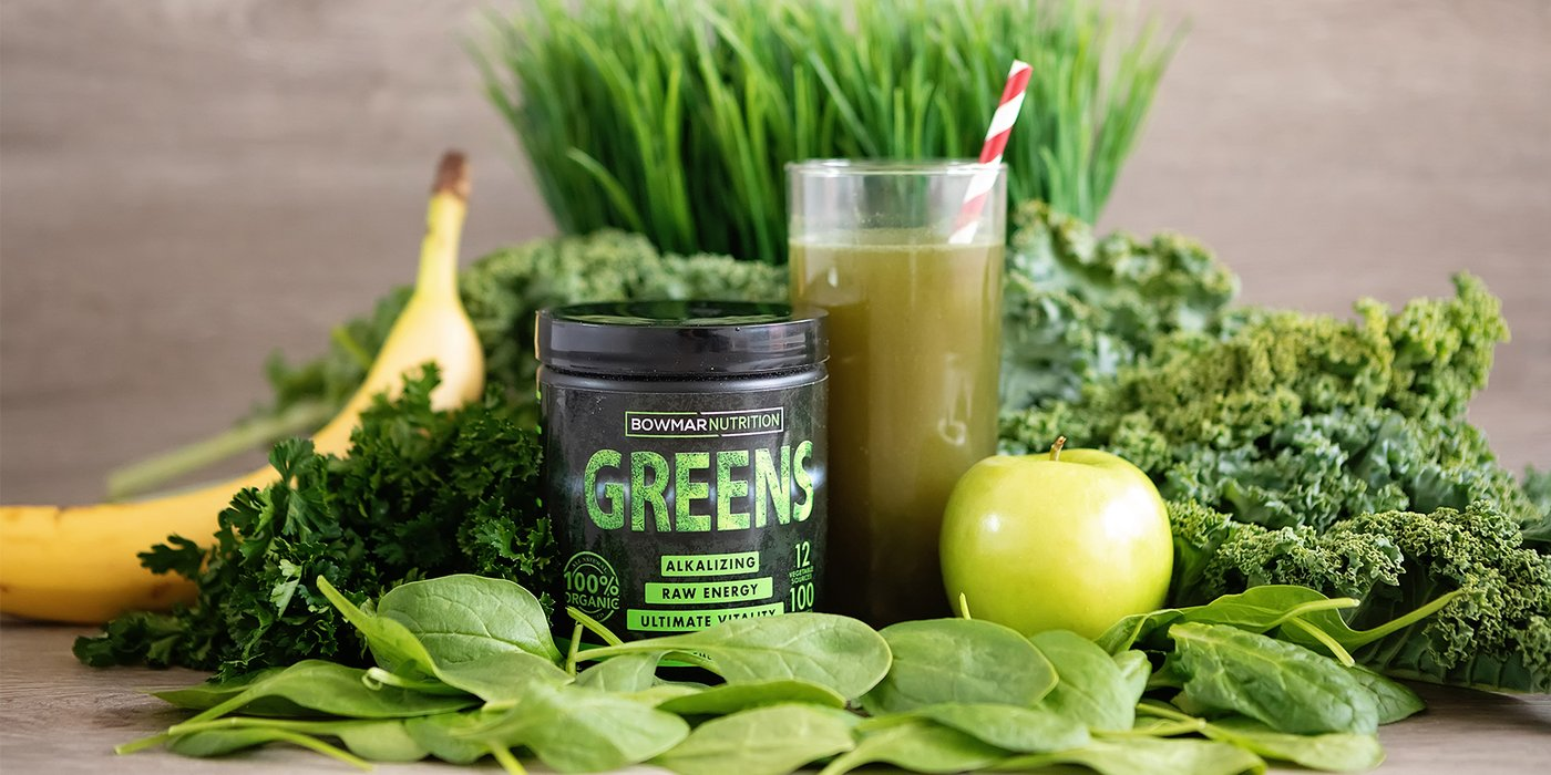 Use Greens To Make Stomach Healthy and Happy