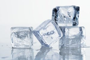 Use Ice Cubes to remove pimples