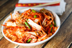 Use Kimchi to make stomach healthy