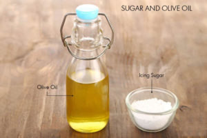 Olive Oil and Sugar remedies to get beautiful hands
