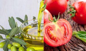 Tomato & Olive Oil Mask