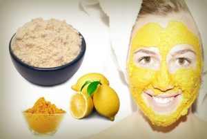 Lime Juice And Gram Flour Face Pack