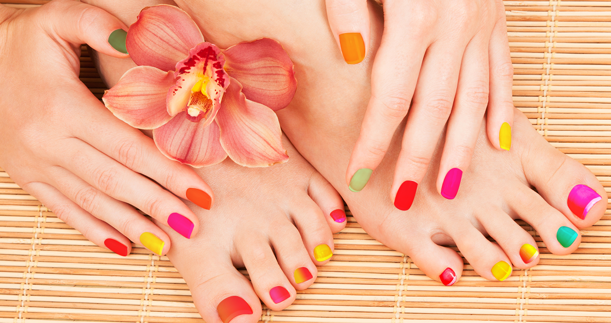 Manicure and Pedicure results