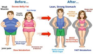 muscle mass and losing fat