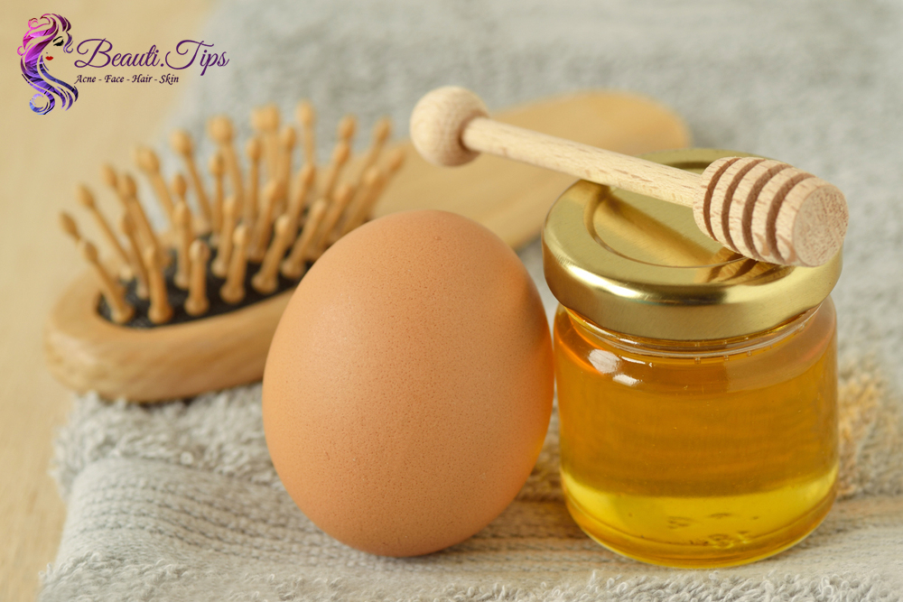 Honey use for hairs